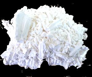 Almidón de arroz para endurecer tus labores de frivolite