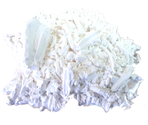 Almidón de arroz para endurecer frivolite