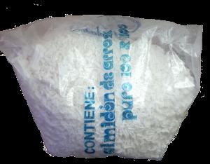 Almidón de arroz en bolsa puro